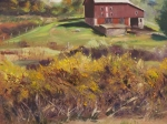 The Kuerner Farm in the Fall