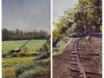 The Tracks at Jamie Wyeth's Farm